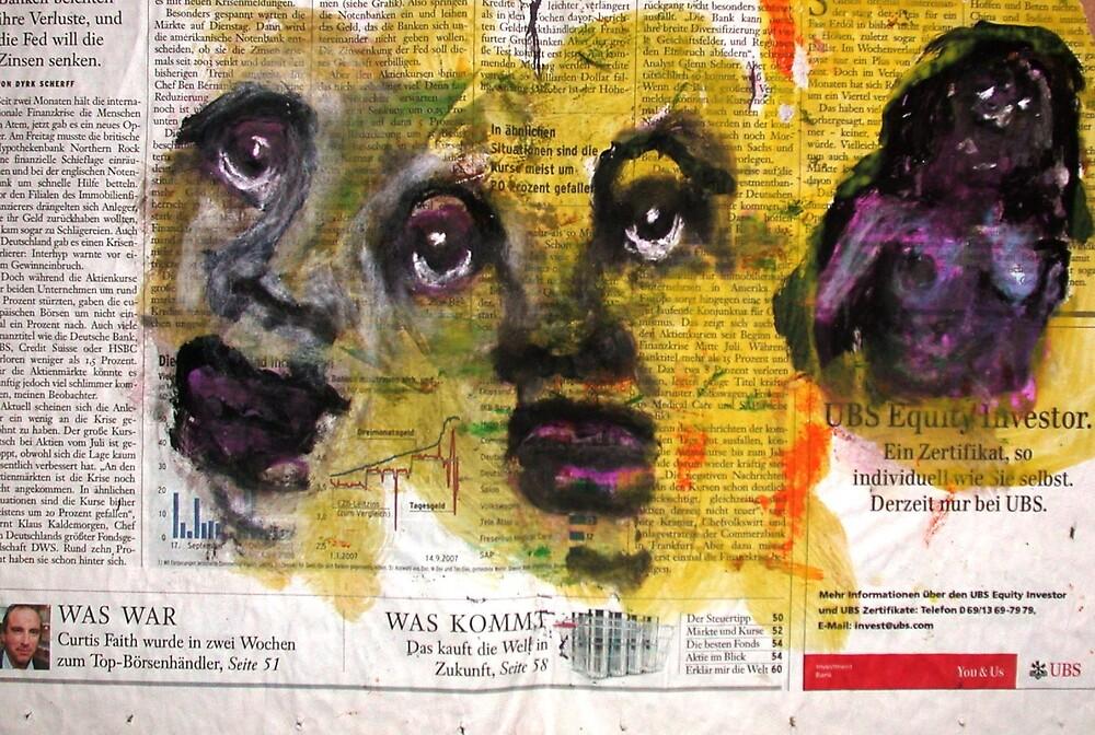 faces by bernard lacoque