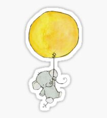 Baby elephant sticker Sticker