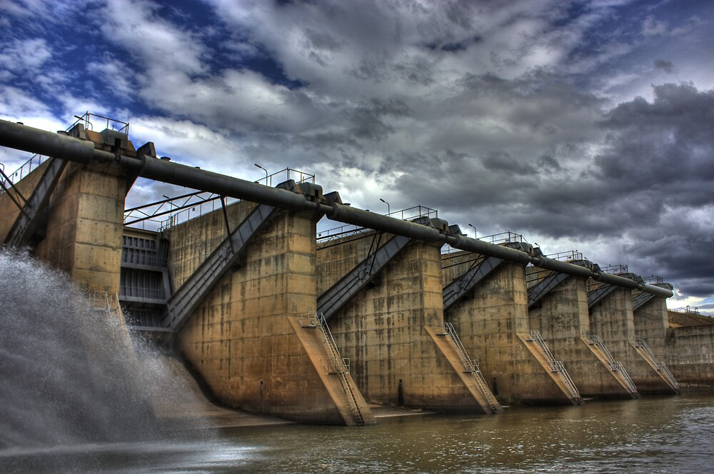 The Dam by Daniel Peut