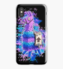 Fortnite Llama Water Color iPhone Case
