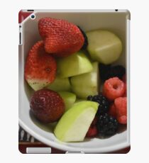 Fruits in a bowl iPad Case/Skin