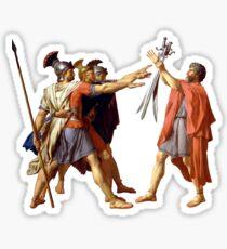 Pegatina Juramento de los Horacios