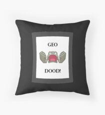 Geodood Throw Pillow