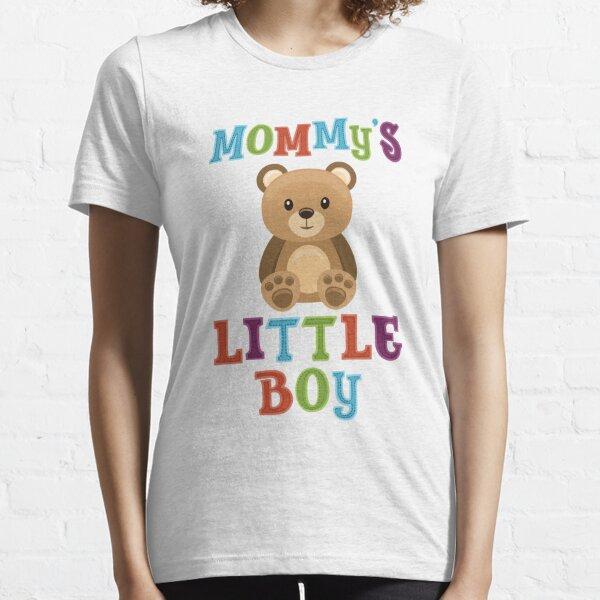Teddy Bear & Maman Little Boy T-shirt essentiel