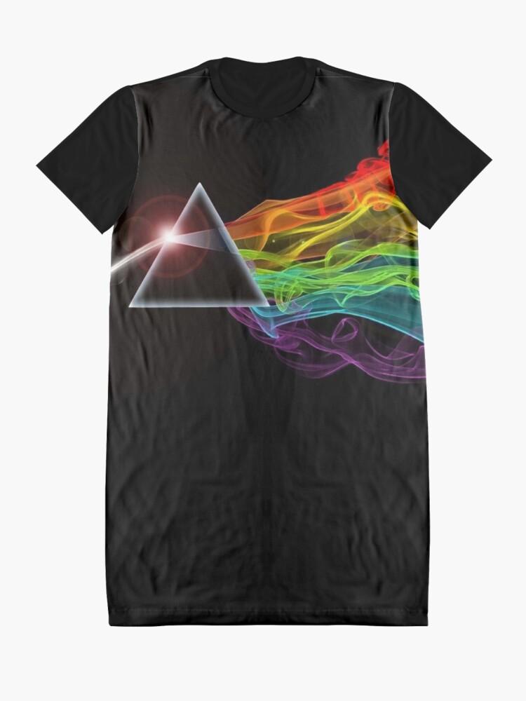 Alternative Ansicht von Pink Floyd - Die dunkle Seite des Mondes T-Shirt Kleid