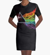Pink Floyd – The Dark Side Of The Moon Graphic T-Shirt Dress