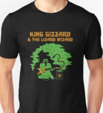 King Gizzard und die Eidechse Wizard Rock Band Slim Fit T-Shirt