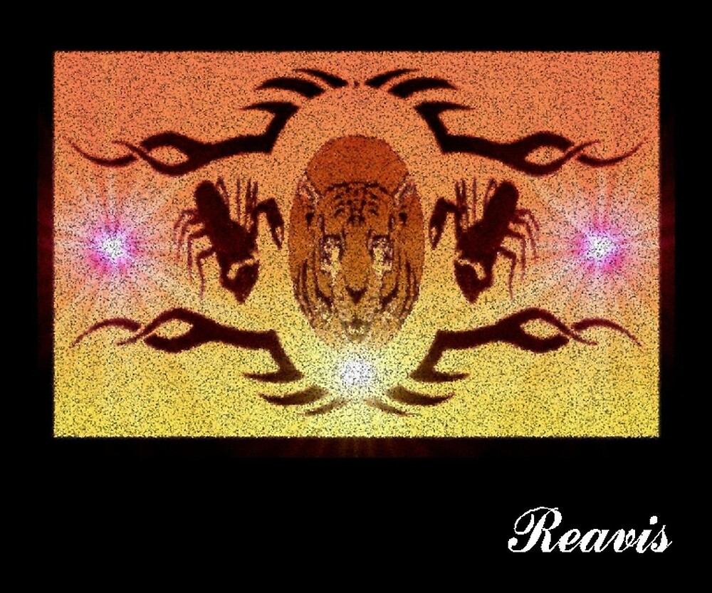 TIGER - SCORPION RUG by Robert Reavis