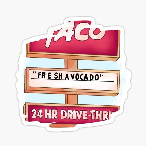 """""""FR E SH A VOCA DO"""" vine Sticker"""