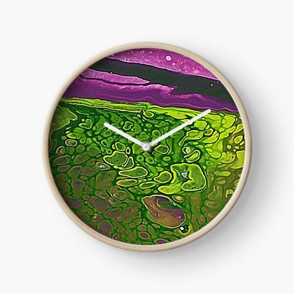 Green Cells Clock