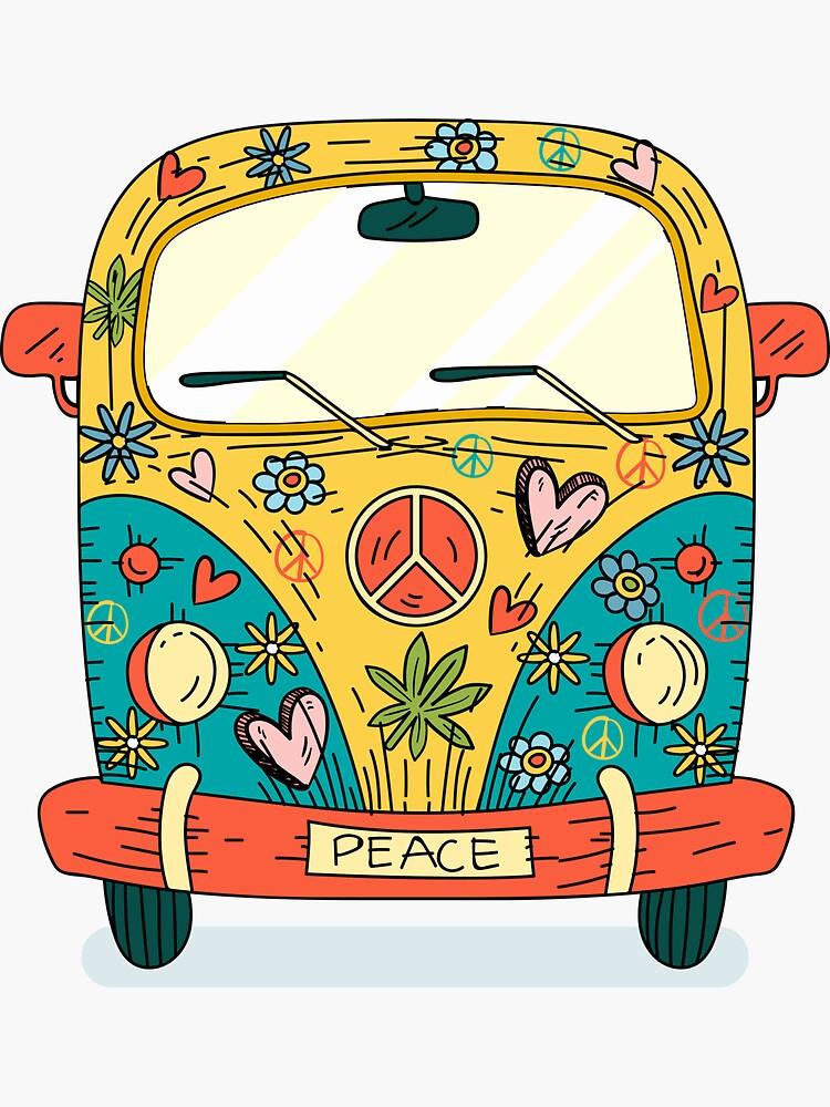 Der Hippie Van von praaf