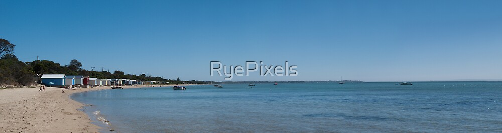 Tyrone foreshore panorama by RyePixels