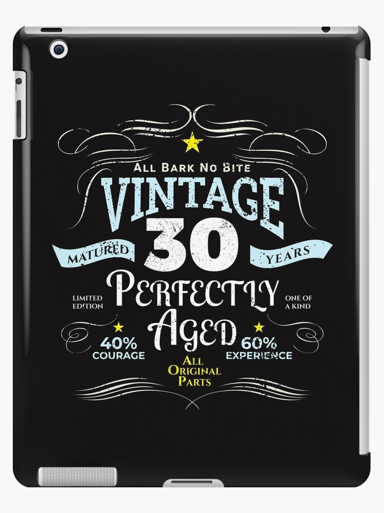 Funny Vintage 30th Birthday Gift