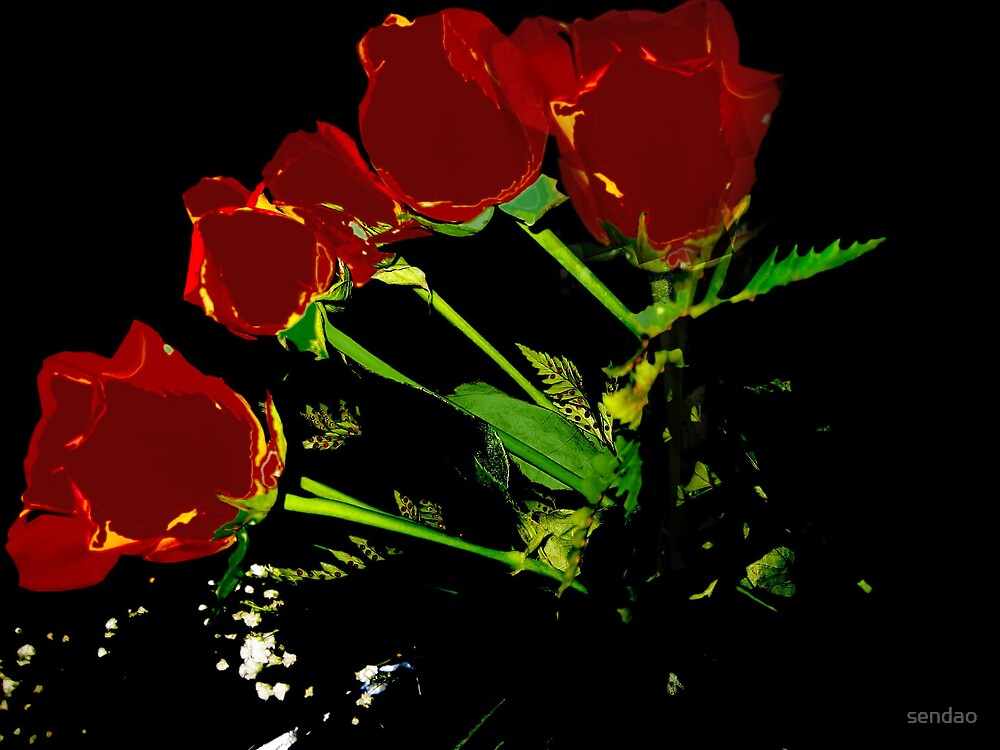 Roses serie IV...! by sendao