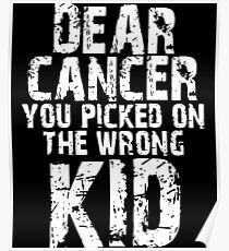 dear cancer t-shirts Poster