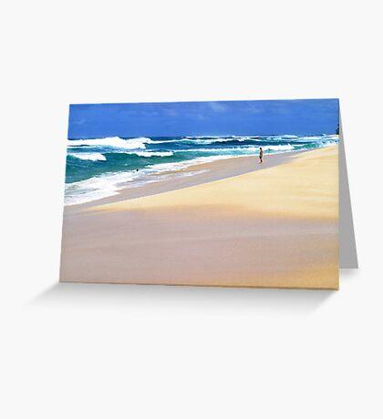 Beautiful Pacific  Greeting Card