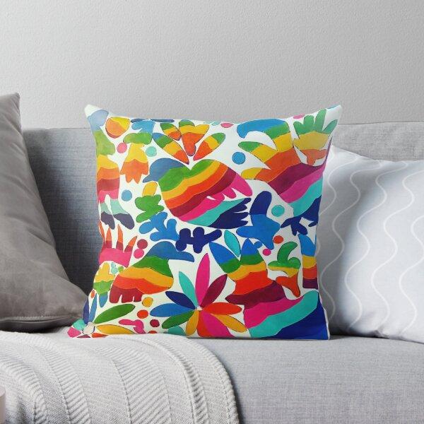 Colores Otomi Mexicanos Cojín