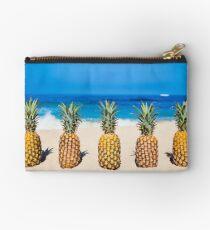 Vintage Pineapple Horizons Studio Pouch