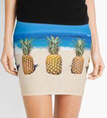 Vintage Pineapple Horizons Mini Skirt