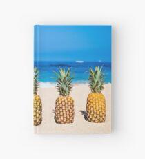 Vintage Pineapple Horizons Hardcover Journal