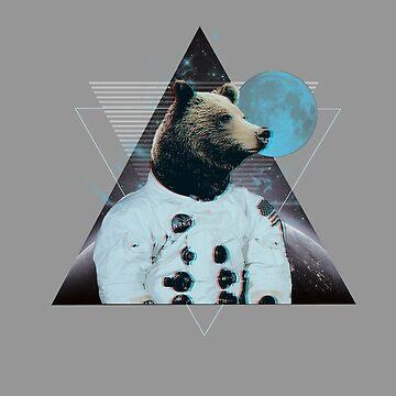 Bear Space by art78