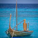 Boat in the Blue by Eric Nagel