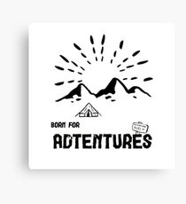 Born for Adtentures - Safari Canvas Print