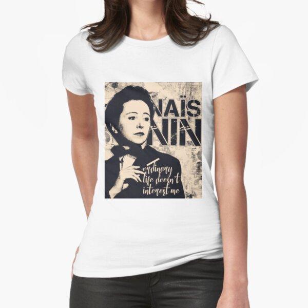 Anais Nin Fitted T-Shirt