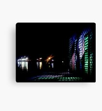 shining night Canvas Print
