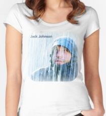 Jack Johnson Brushfire Fairytales Women's Fitted Scoop T-Shirt