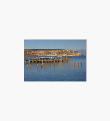Swanage Pier & Ballard Down Art Board