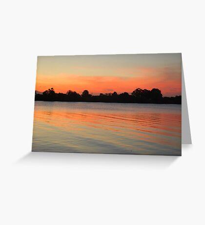 Blood River Greeting Card