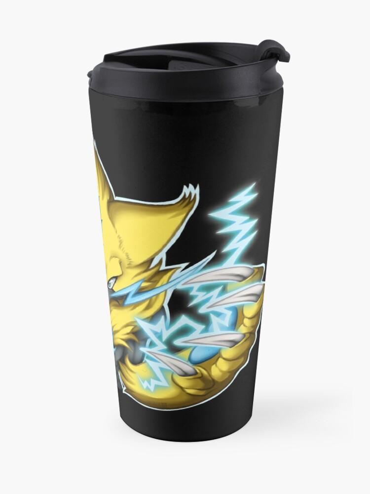 Alternate view of Zeraora (w/ lightning) Travel Mug