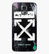 OFF WHITE Galaxy Brushed Case/Skin for Samsung Galaxy