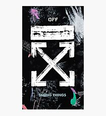 OFF WHITE Galaxy Brushed Photographic Print