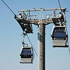 Montjuic cable cars, Barcelona by David Fowler