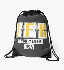 JFK - New York Airport Code Souvenir or Gift Shirt Drawstring Bag