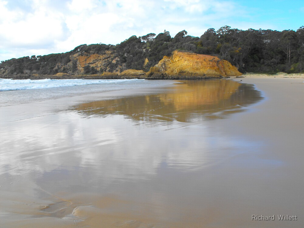 Tathra Beach, South Coast NSW Australia  by Richard  Willett