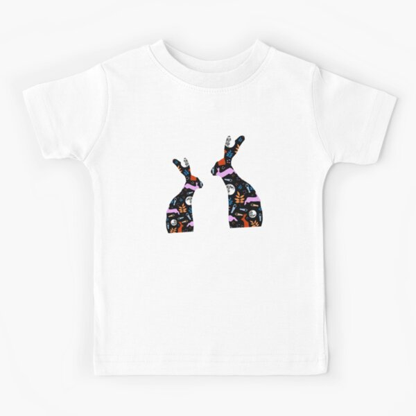 Patchwork Hares Kids T-Shirt