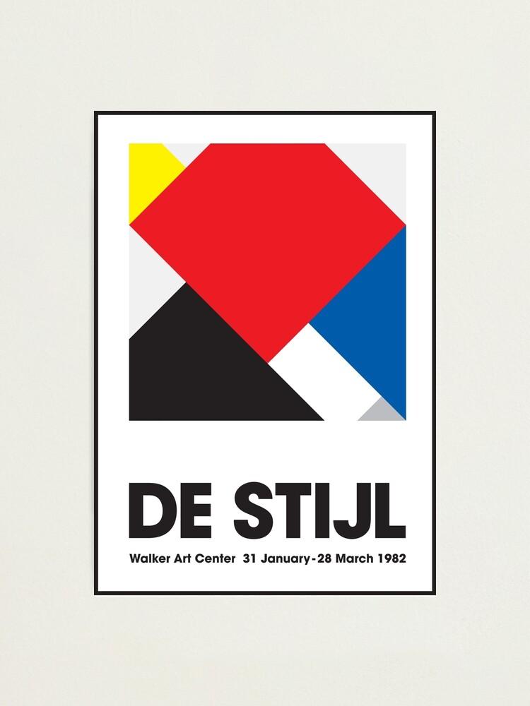 Alternate view of DeStijl#3 Photographic Print