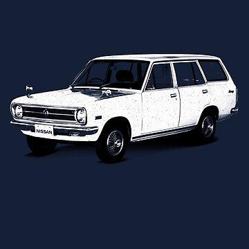 Datsun Sunny Wagon 1970 by DatsunStyle
