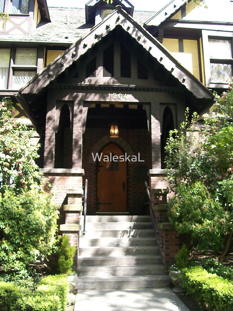 Green Mansion Doorway by WaleskaL