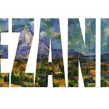 Paul Cézanne - Sainte Victoire by Orata