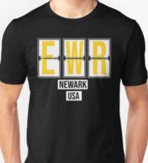 EWR - Newark Airport Code Souvenir or Gift Shirt Unisex T-Shirt