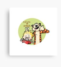 Funny Friends Canvas Print