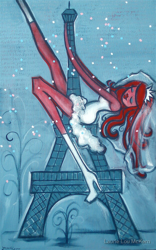 She Married the Eiffel Tower by Laurie Lou McKern