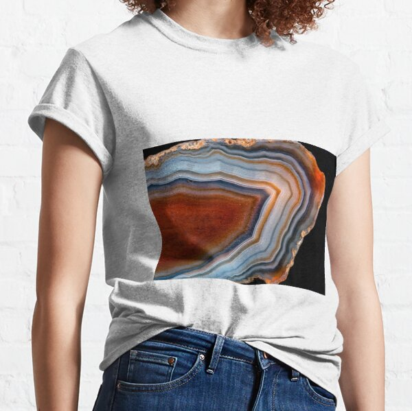 Layered agate geode 3163 Classic T-Shirt