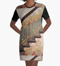 Art Nouveau spiral staircase Graphic T-Shirt Dress