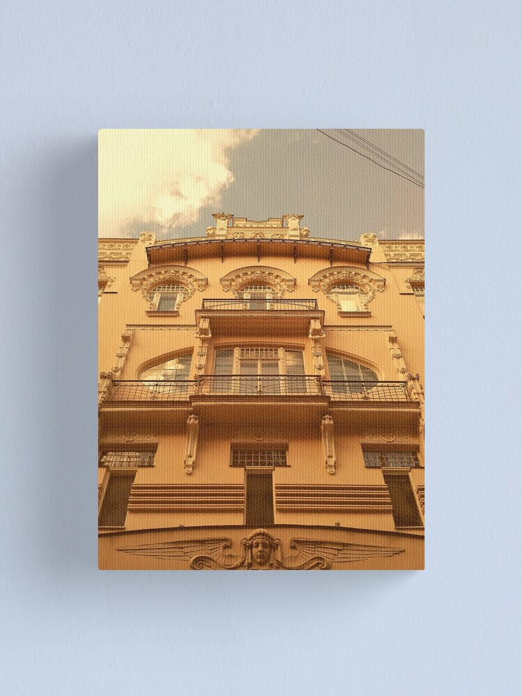 Alternate view of Beautiful Art Nouveau in Riga, Latvia Canvas Print