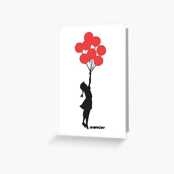 Banksy - Balloon Girl Greeting Card